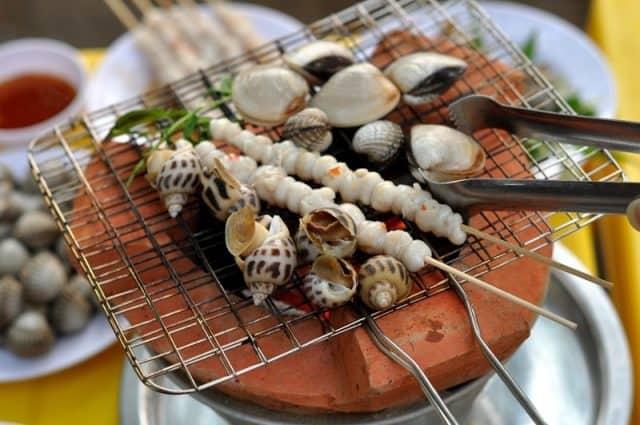 Hải sản Quy Nhơn hấp dẫn (ảnh: ST)