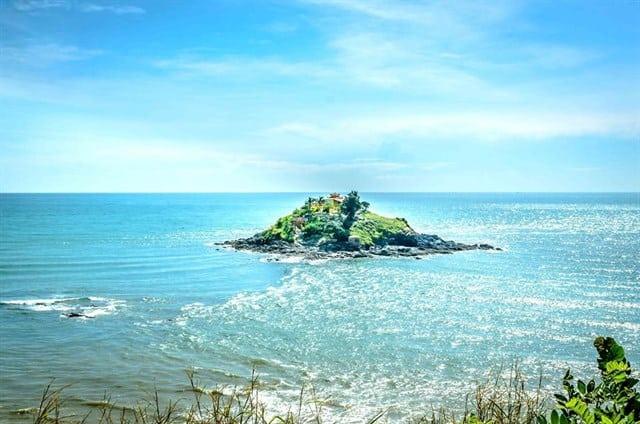 Đảo hòn bà của Vũng Tàu bãi Sau