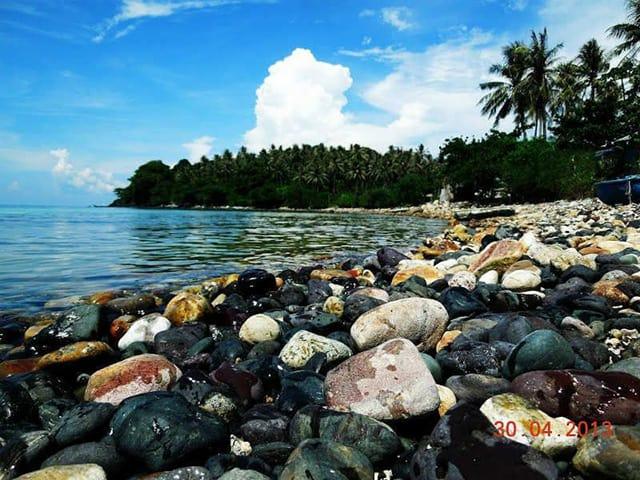 Hòn Mấu đảo Nam Du ở Kiên Giang (Ảnh: Sưu tầm)