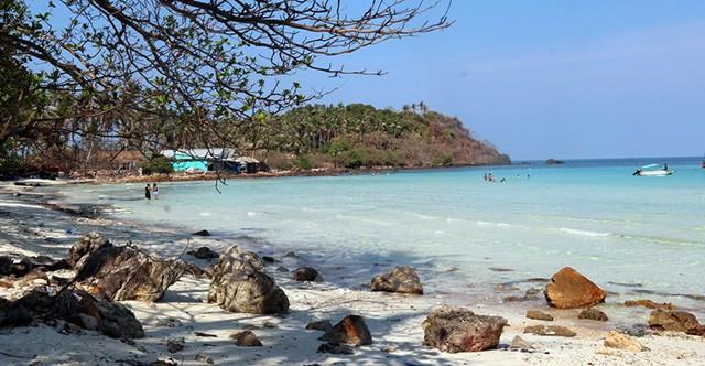 Bãi biển Hòn Mấu Kiên Giang (Ảnh: Sưu tầm)