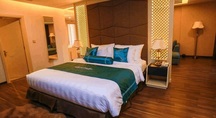 Phòng ngủ khách sạn Central Hotel