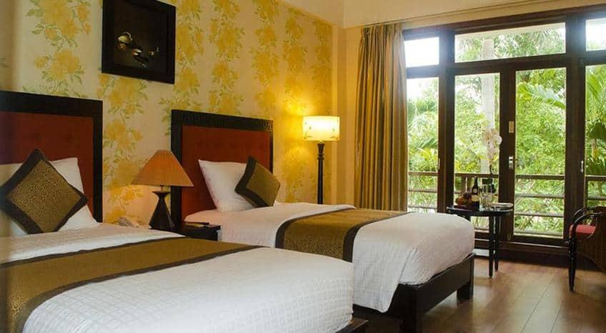 Phòng ngủ Sun Spa Resort & Villas tại Quảng Bình