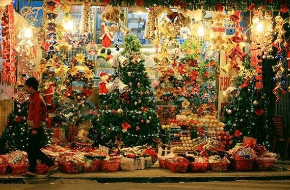 Địa chỉ mua đồ trang trí Giáng sinh rẻ đẹp tại Hà Nội