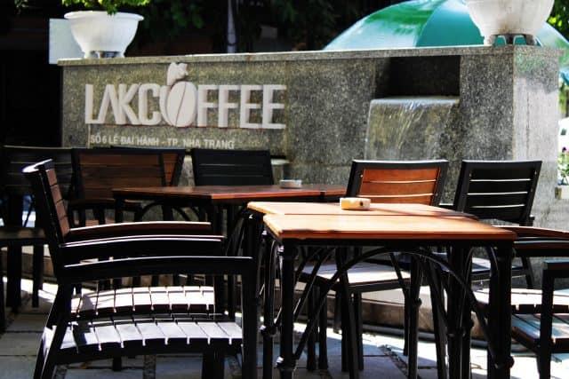 Lak Cafe - những quán cafe đẹp ở Nha trang