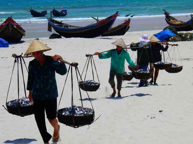 Làng cát Bảo Ninh