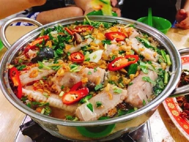 Lẩu cá đuối Trương Công Định (Ảnh sưu tầm)