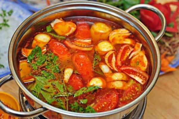 Lẩu Thái nhà hàng Chen