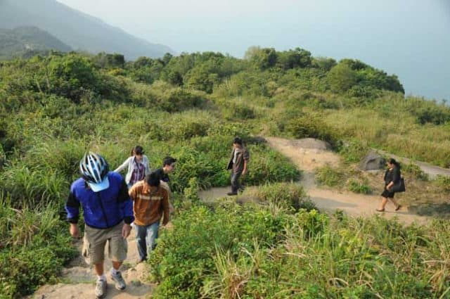 Từng bước cuối cùng để đến đỉnh núi Bàn Cờ