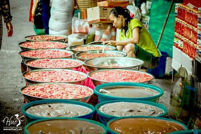 Các loại mắm Huế mua ở chợ Đông Ba
