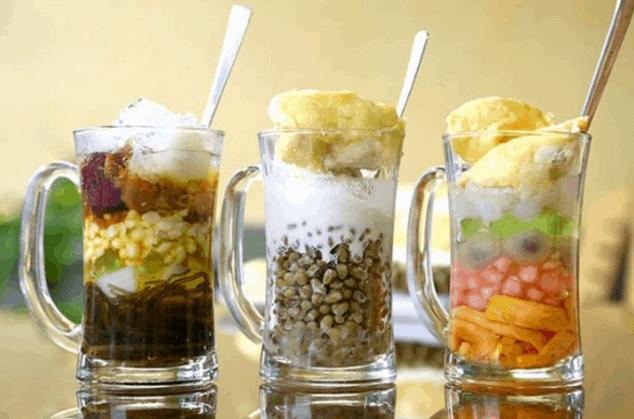Chè là một loại đồ ăn vặt mà người Sài Gòn mê tít (Ảnh ST)
