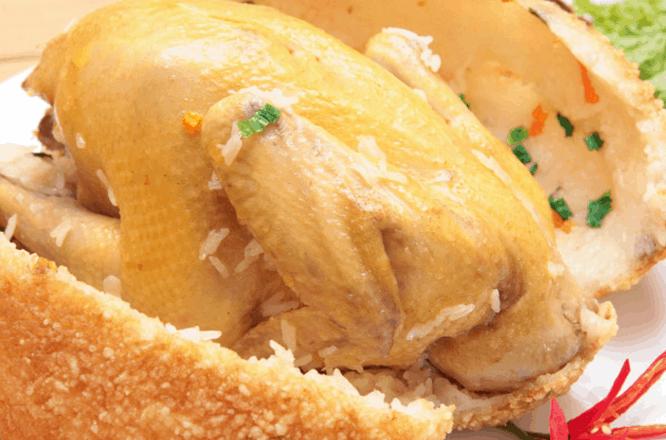 Ăn món gà bó xôi giúp bạn thêm yêu Sài Gòn hơn