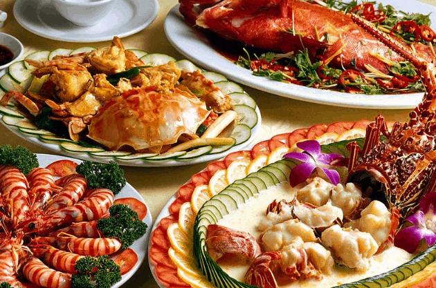 Hải sản giúp bạn có được bữa ăn tuyệt ngon khi tới Vũng Tàu du lịch