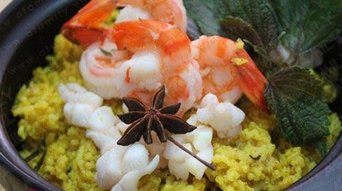 Cơm nị - cà púa, món ngon lạ đặc sắc của dân tộc chăm (ảnh sưu tầm)