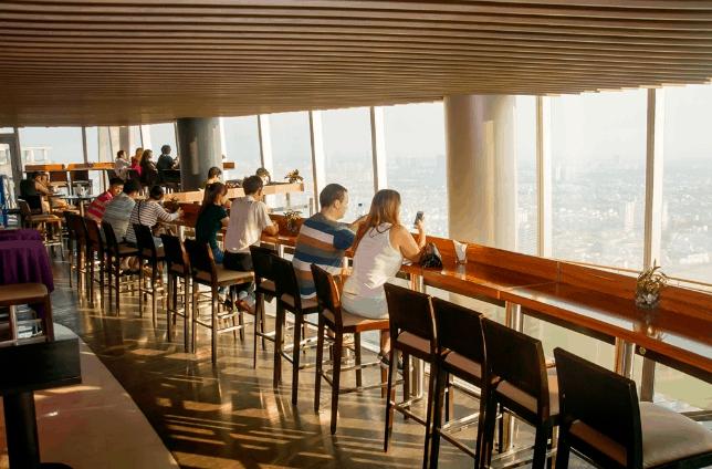 Thưởng thức ly cà phê và ngắm nhìn Sài Gòn