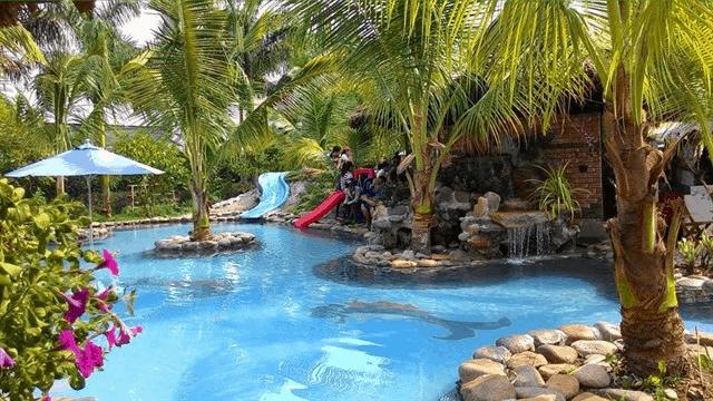 khu bể bơi