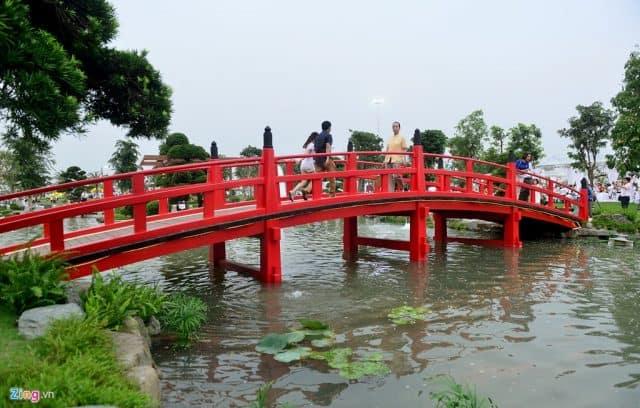 Hình ảnh cây cầu Nhật Bản - Đặc trưng của đất nước hoa anh đào