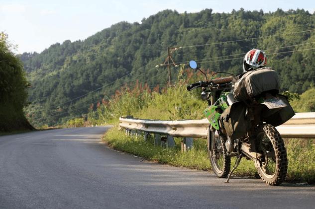 Bạn có thể sử dụng xe máy để tới địa đạo Củ Chi (Ảnh ST)