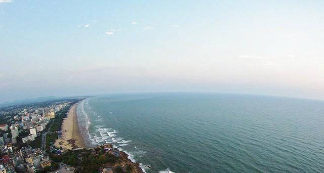 Chiêm ngưỡng vẻ đẹp của bãi biển Sầm Sơn một cách rõ nét nhất