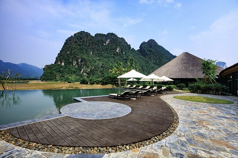 cảnh đẹp tại serena resort kim bôi hòa bình