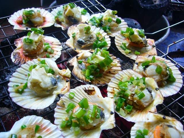 Những con sò hấp dẫn hương vị rất độc đáo của ẩm thực đảo Nam Du Kiên Giang (Ảnh: Sưu tầm)