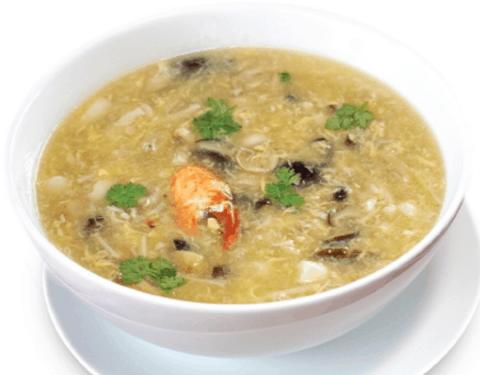 Món súp cua được nhiều người Sài Gòn cực ghiền (Ảnh ST)