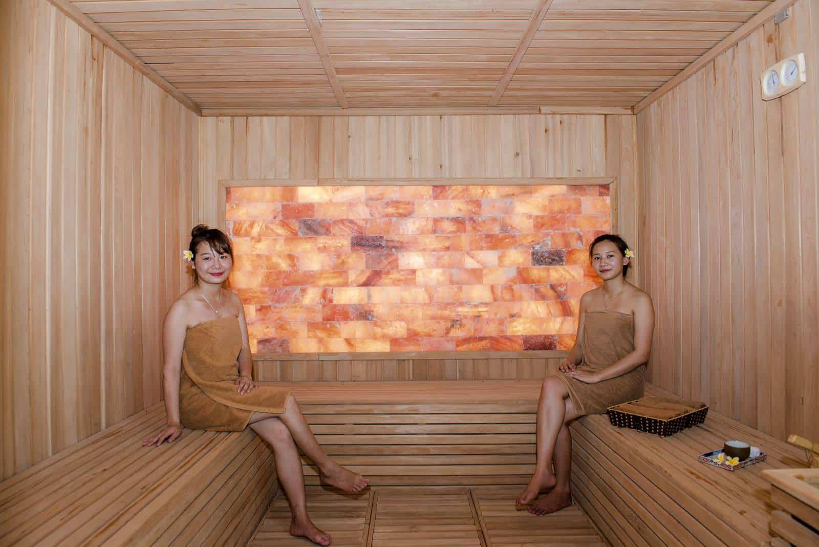 Tắm Onsen kiểu Nhật tại Serena Resort