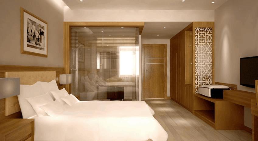 Phòng ngủ Palm Hotel Thanh Hoa