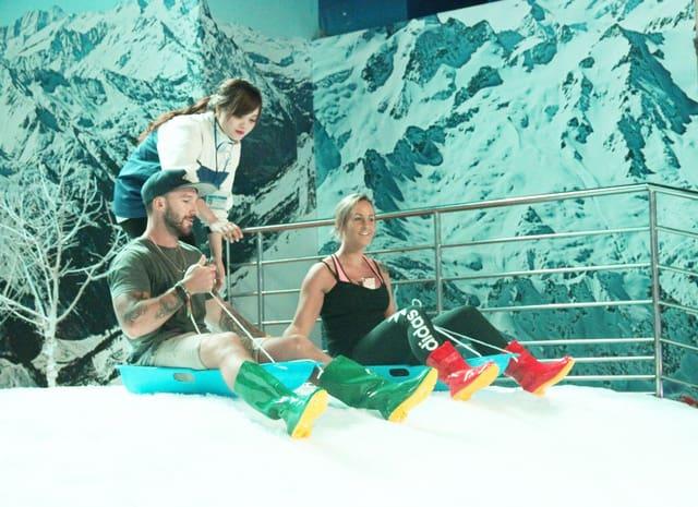 Hoạt động trượt tuyết đầy thử thách