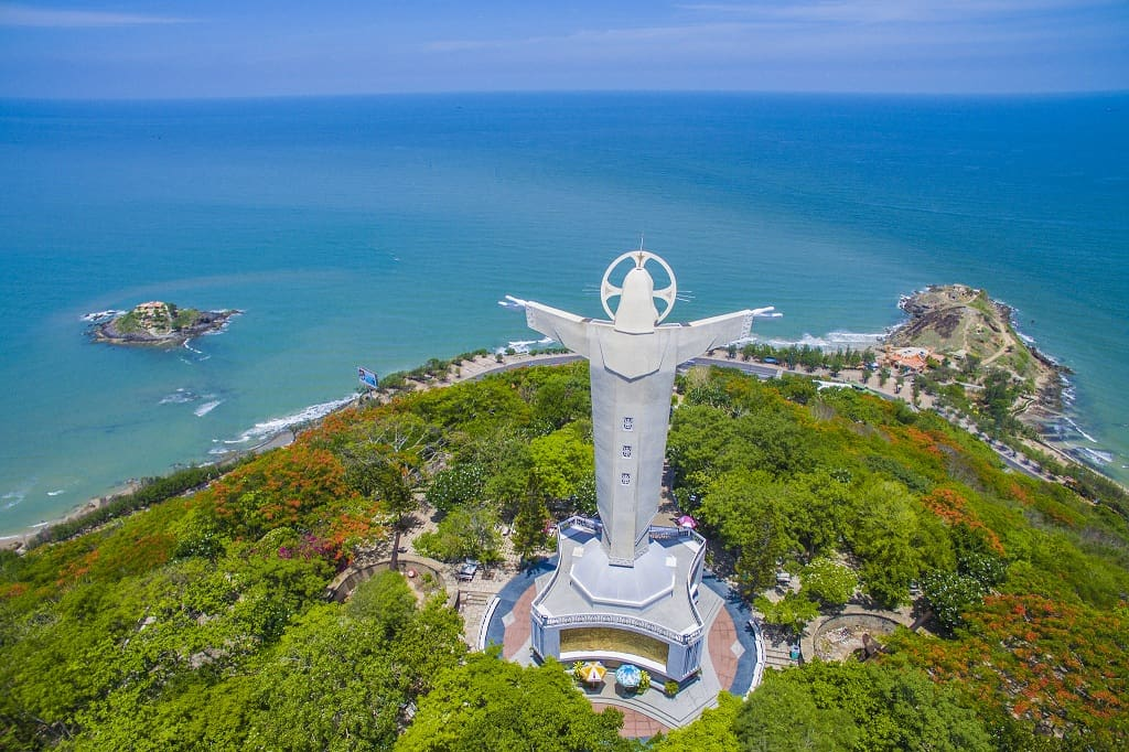Tượng Chúa Kitô - Một biểu tượng của thành phố Vũng Tàu