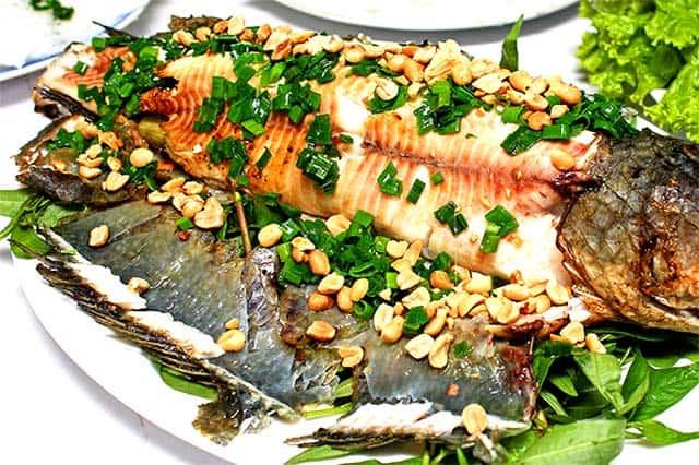 Vị cá thơm dai trong từng thớ thịt (Ảnh: ST)