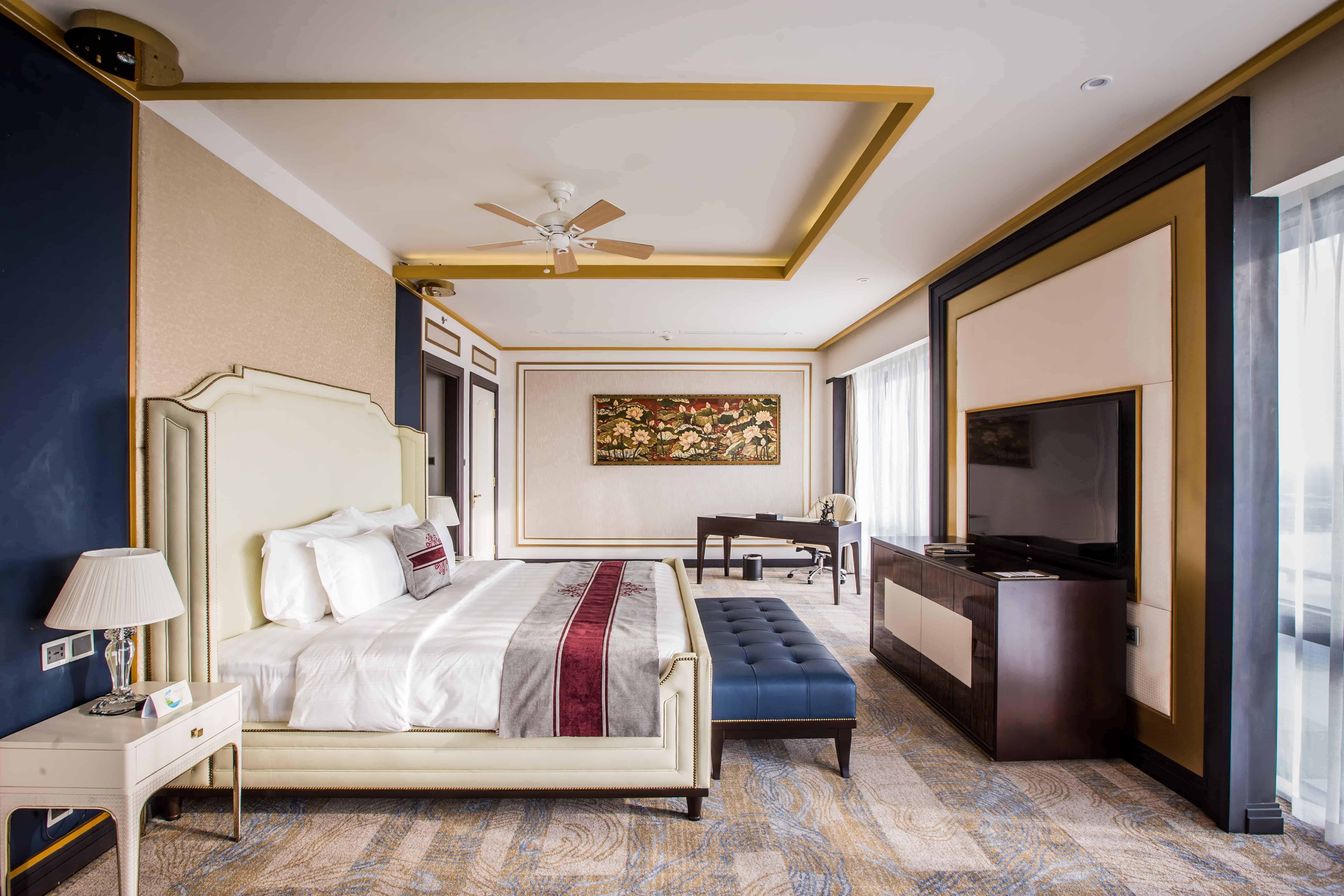 Bên trong phòng của Vinpearl Cần Thơ Hotel