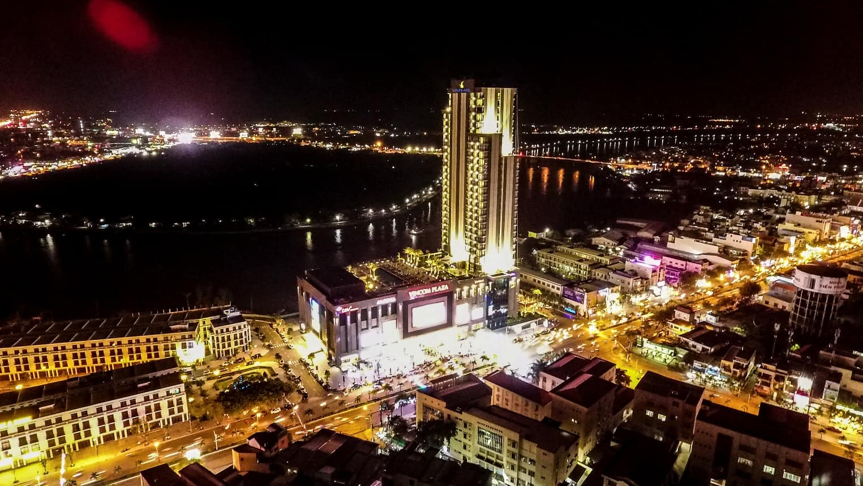 Khách sạn Vinpearl Cần Thơ Hotel về đêm