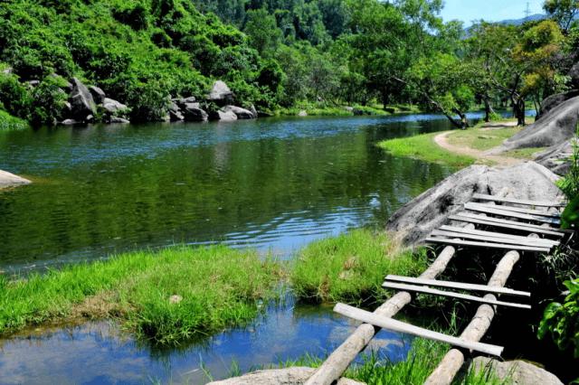 Vực Phun trên bản đồ du lịch Phú yên