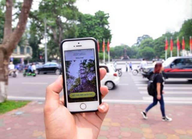 Wifi miễn phí ở phố đi bô