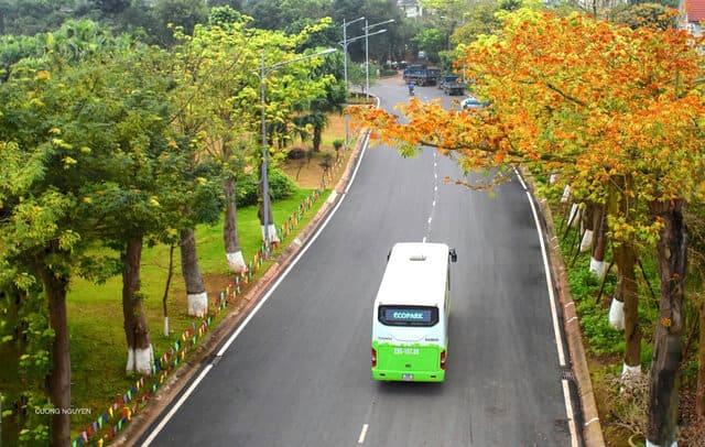 Xe bus đi Ecopark
