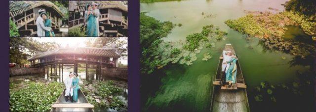 Cầu ngói Thanh Toàn - địa điểm chụp ảnh cưới ở Huế