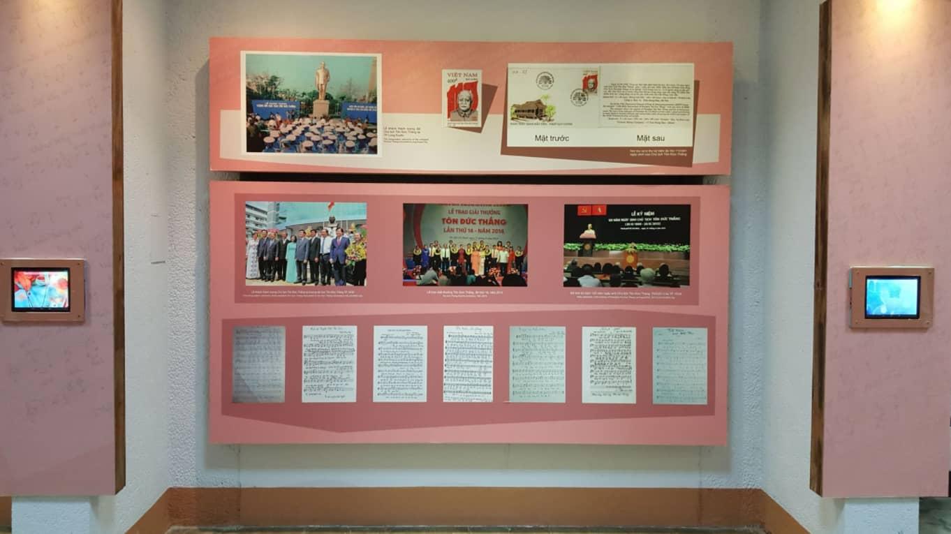 Các tác phẩm được trưng bày