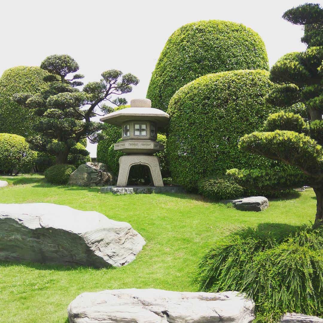 Một không gian vô cùng yên bình và đậm chất Nhật