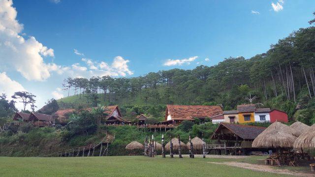 Làng Cù Lần - địa điểm du lịch Đà Lạt