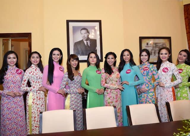 Festival hoa Đà Lạt - tuần lễ thời trang áo dài lụa