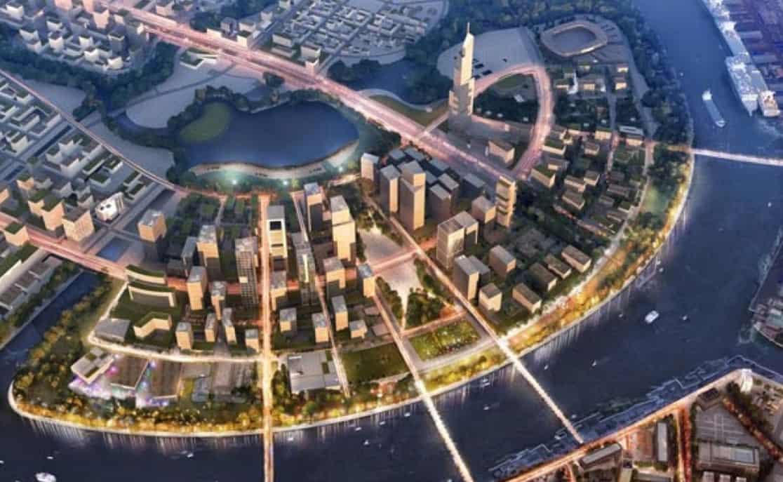 Thành phố trong mơ ở tương lai