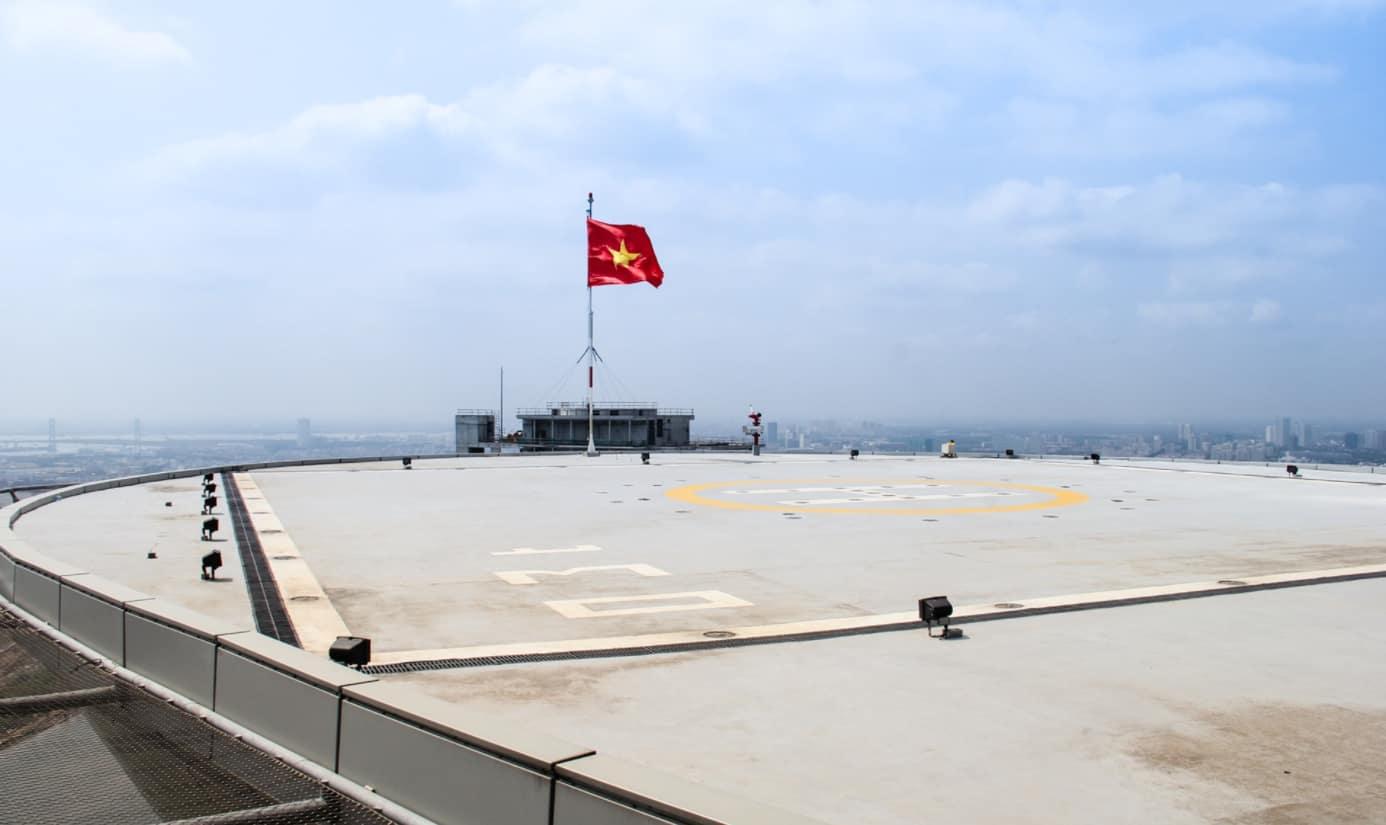 Sân đỗ trực thăng