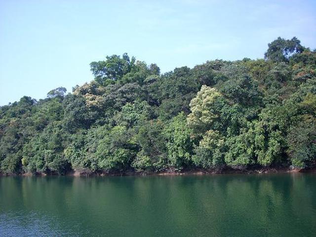 Thiên nhiên hồ Kẻ Gỗ Hà Tĩnh