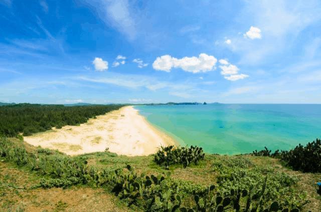 Bãi xép một trong 10 bãi biển Phú Yên đẹp