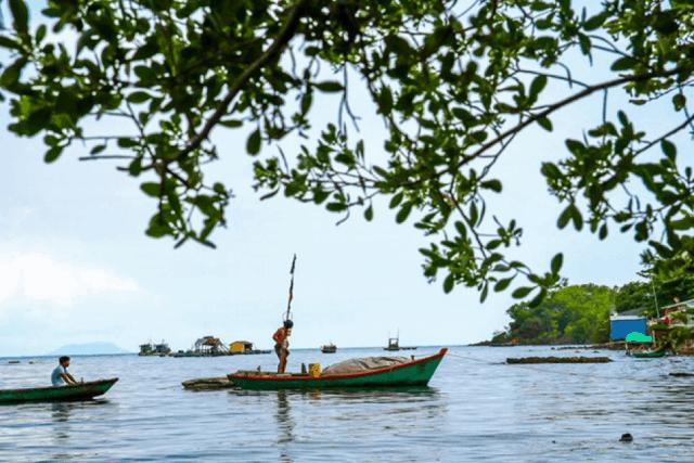 Các tour du lịch đảo Hải Tặc Hà Tiên