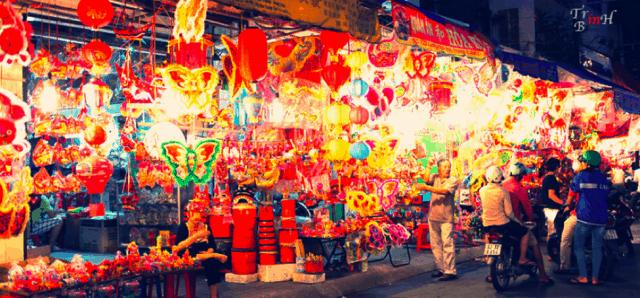 Địa điểm đi chơi trung thu ở Sài Gòn đẹp