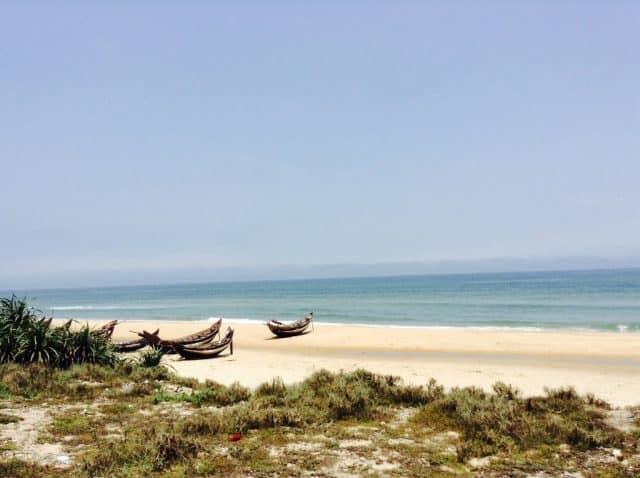 Bãi biển Thuận An Huế