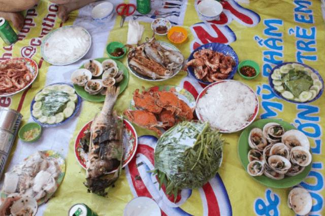 Những món ăn hải sản ngon miệng trên Đảo Hải Tặc