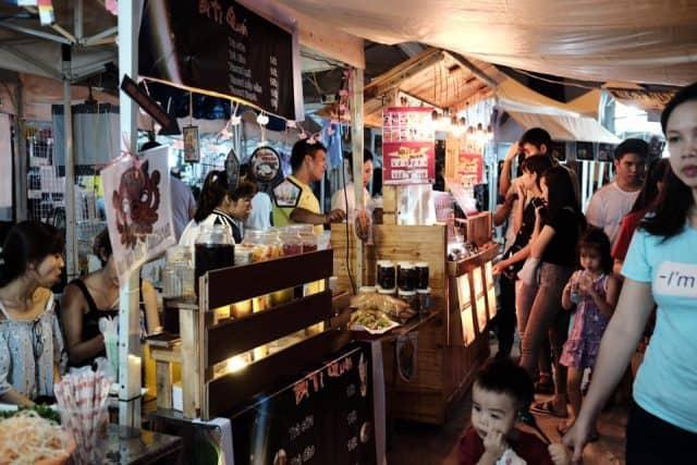 Ẩm thực tại chợ phiên Đà Nẵng
