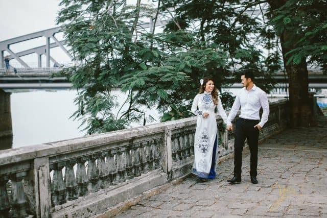 Bờ sông Hương - địa điểm chụp ảnh cưới ở Huế